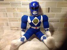1994 cloth Blue Power Rangers with hard plastic head