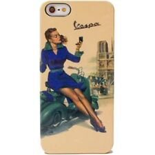 COVER CUSTODIA RIGIDA PARIS PIN UP ORIGINALE VESPA  PER IPHONE 5