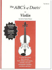 The ABCs of Duets for Violin by Janice Tucker Rhoda - LEARN THE VIOLIN WITH US!