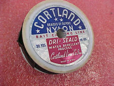 F6 vintage fishing line Cortland Braided Dupont nylon Made in USA 20 pd