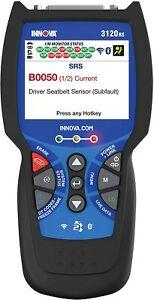 INNOVA 3120RS Code Scanner - Professional OBD2 Scanner #1209