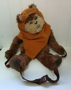 """Star Wars WICKET EWOK 24"""" 61cm Plush Backpack Buddy Bag in excellent condition"""