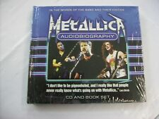 METALLICA - AUDIOBIOGRAPHY - CD+BOOK SET SIGILLATO