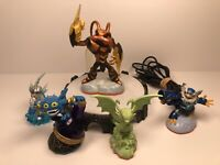 Activision Portal Of Power Model 457 Skylanders Bundle Of 5 Tested Working
