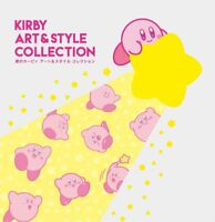 Kirby Art Style Collection Stars Book Anime Game Kawaii From Japan NEW F/S