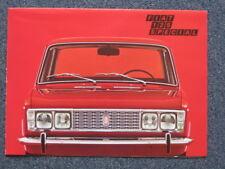 FIAT 125 SPECIAL ORIGINALE PROSPEKT 1969