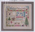 Sampler Hiver (Winter) - patchwork style cross stitch chart - Jardin Prive