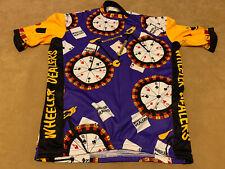 Vomax Wheeler Dealer Gambling Cycling Jersey Size Large
