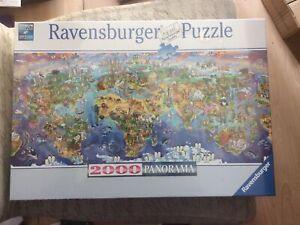 NEW & SEALED - Ravensburger 2000 Panorama Jigsaw - World Wonders