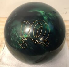 Used Storm !Q Tour Emerald 15lbs Bowling Ball.  Slightly Used