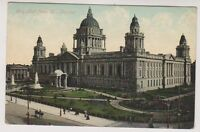 Northern Ireland postcard - City Hall from West, Belfast, Co. Antrim (A12)