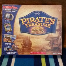 NEW I SPY Pirate's Treasure Game Book CD-ROM Map & Card Kit Scholastic FUNdles