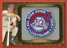 DUKE SNIDER - 2009 Topps Commemorative Patch #LPR-125   *1963 All-Star Game*