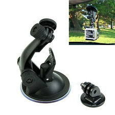Removable Car Camera Suction Cup Aluminum Adapter Mount Screw GoPro Hero 1 2 3