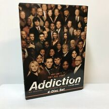 Addiction HBO Documentary 4-Disc Boxed DVD Set 14-Part Series