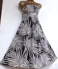 MONSOON ✩ STUNNING NEVADA SILK COCKTAIL DRESS ✩ UK SIZE 10