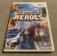 Emergency Heroes (Nintendo Wii, 2008) Complete and Tested
