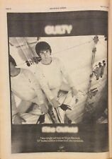 MIKE OLDFIELD - ORIGINAL PRESS POSTER ADVERT - GUILTY - 7/04/1979