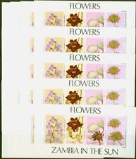 More details for zambia 1983 wild flowers mini sheet sgms387 v.f mnh x 25