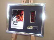 DIRTY HARRY CLINT EASTWOOD FRAMED ORIGINAL 35MM FILM CELL