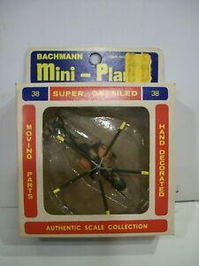 Bachmann Mini-Planes #8338 Sikorsky HH-3H Jolly Green Giant w/original box #038