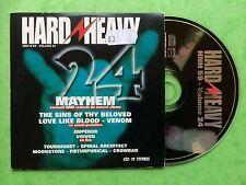 HARD N HEAVY #59 Vol.24 - Mayhem, Venom, Crowbar, Voivod etc. - 11 Track Promo