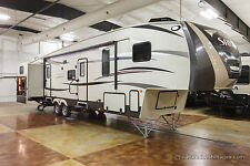 2015 Palomino Sabre 36QBOK-7 5th Fifth Wheel Bunks Outdoor Kitchen Used Sleep 10