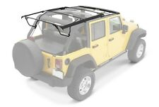2010-2017 Jeep Wrangler Unlimited Soft Top Hardware Kit with Surrounds & Frame