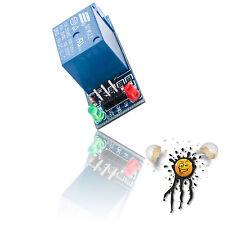 1 Kanal Channel Relais Modul 5V 10A 250V AC 30V DC Optokoppler Arduino ESP IoT
