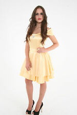Belle Golden Princess Fairytale Adult Womens Costume