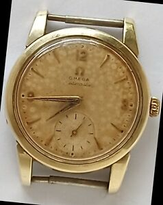 1950s Vintage OMEGA Seamaster Cal. 410 Ref. 2759 10 SC Tropical Dial Working