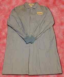 Light Blue Protective Labcoat 3 Pockets Uniform Fashion Seal