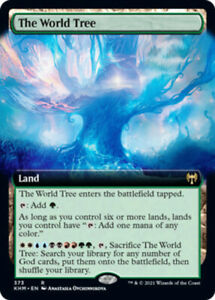 The World Tree - Extended Art x1 Magic the Gathering 1x Kaldheim mtg card