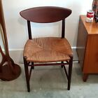 Set of 5 Peter Hvidt teak or walnut chairs danish modern mid century  316    317