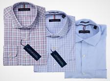 Tommy Hilfiger Men's Regular Fit Stretch Wrinkle Resistant Dress Shirt