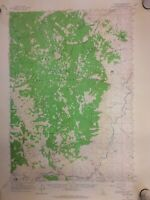 "Clayton Idaho 1963 Quadrangle Topographical Map 21""x17"" OldPaperMaps.com"