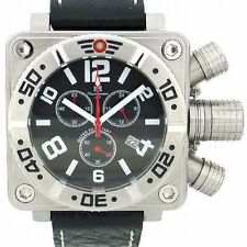 20ATM German U-Boot Chronograph 3 crown protection T0147