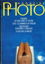 MAGAZINE PHOTO 45- 1983 ARLES FONTANA NUS PISCINE EROTISME ANGLAIS