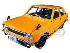 "1970 DATSUN 510 BRONZE YELLOW ""AUTO-JAPAN"" 1/24 DIECAST MODEL BY M2 40300-60 B"