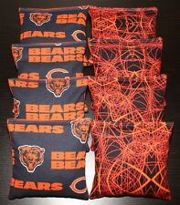 Chicago Bears Cornhole Bags 8 Aca Regulation Corn Toss Baggo Bean Bags