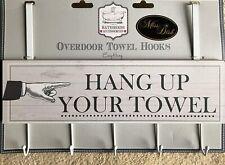 Over Door Bathroom Hanger Hooks - Hang Up Your Towel