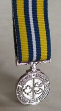 Search & Rescue Canada Canadian Coast Guard Exemplary Service Mini Medal