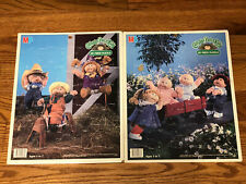 Cabbage Patch Kids Puzzles 25 Piece Lot Of 2, Vintage, 1984
