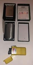 3 PC Smoking Accessories - 205 Zippo, Pocket Ashtray, Vintage Marlboro Lighter
