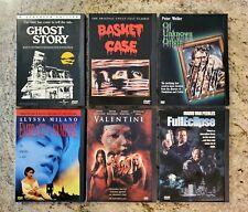 GHOST STORY BASKET CASE FULL ECLIPSE 6 DVD HORROR SLASHER GORE MONSTER MOVIE LOT