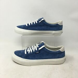 NEW Vans Court DX Scotchgard Casual Sneakers Pig Suede Obsidian Men 6.5 Women 8