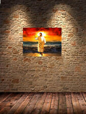 jesus walking christ HD Canvas print Oil painting on canvas No Frame 14 H865