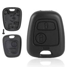 PEUGEOT 206 307 REMOTE 2 BUTTON KEY FOB CASE Cover Car Keys Fob NEW UK Seller