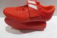 NWOB Adidas Adizero Discus Hammer Track Shoe RED WHITE INFRARED Men's SZ 9.5
