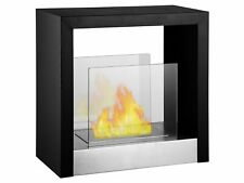 Freestanding Ventless Bio Ethanol Fireplace - Tectum S   Ignis